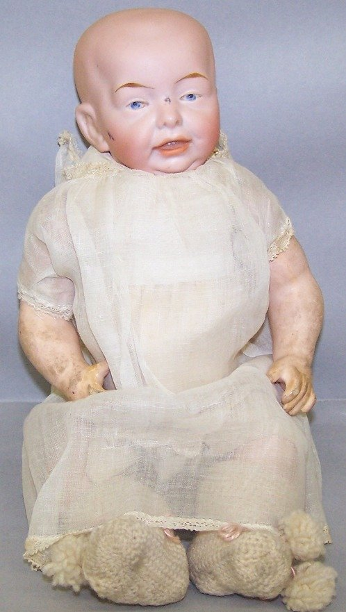 2020: BISQUE HEAD CHARACTER DOLL