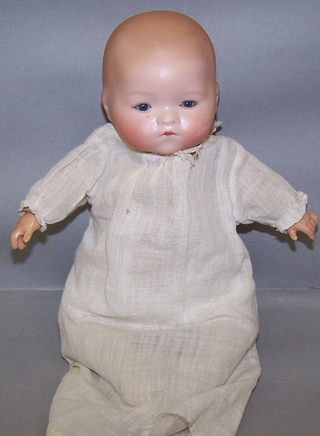 2022: ARMAND MARSEILLE BYE-LO BISQUE HEAD BABY DOLL