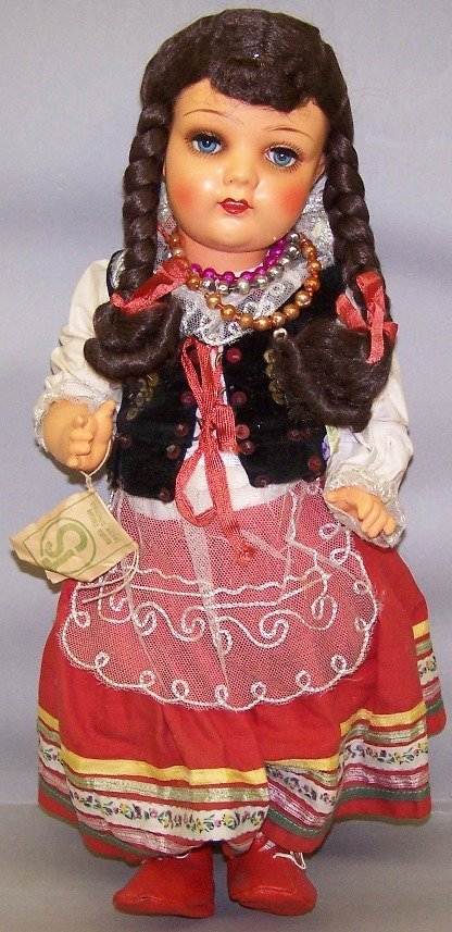 2062: CELLULOID ETHNIC DOLL
