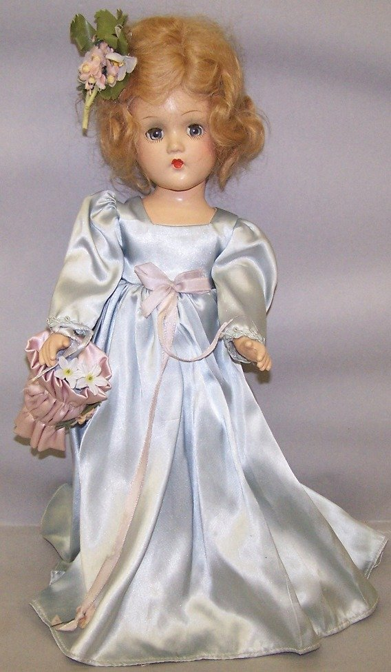 2066: MADAME ALEXANDER COMPOSITION BRIDESMAID DOLL