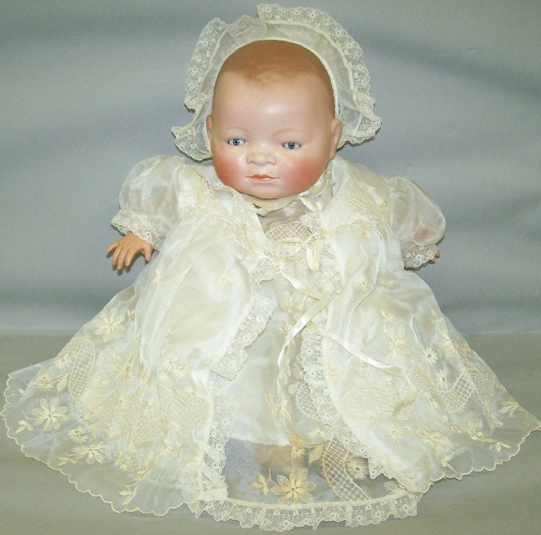 2070: BYE-LO BISQUE HEAD BABY DOLL
