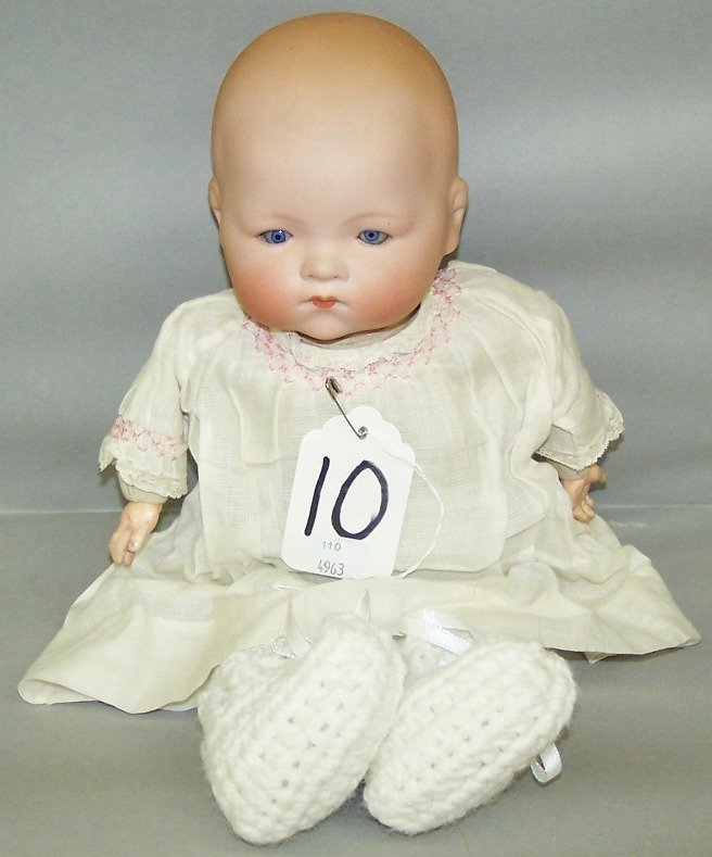 2071: ARMAND MARSEILLE BISQUE HEAD DOLL