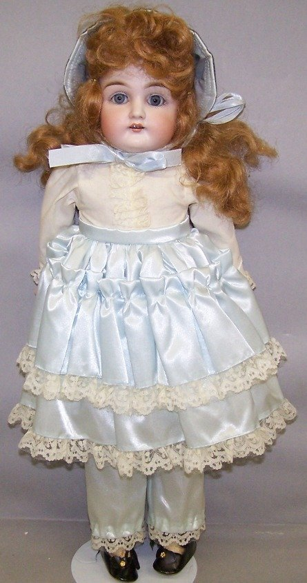 2007: ***ATTRIBUTED TO JD KESTNER BISQUE HEAD DOLL