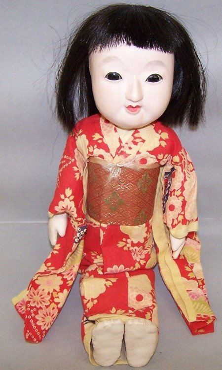 2051: ORIENTAL COMPOSITION HEAD DOLL