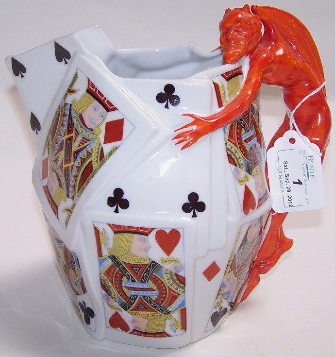 1: ROYAL BAYREUTH WATER PITCHER