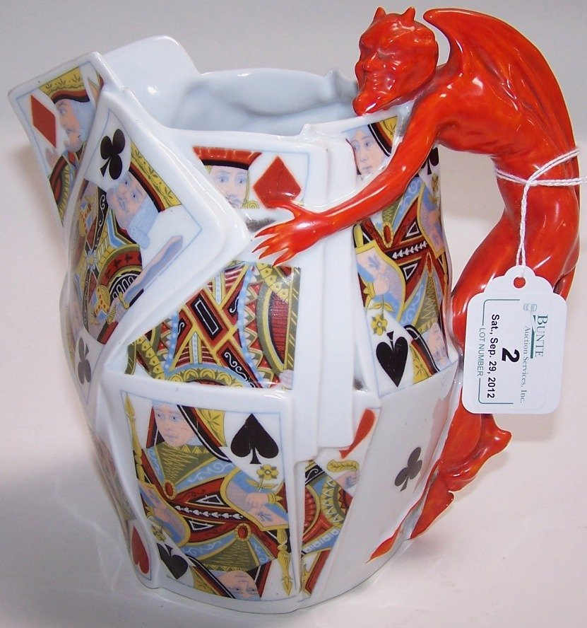 2: ROYAL BAYREUTH WATER PITCHER
