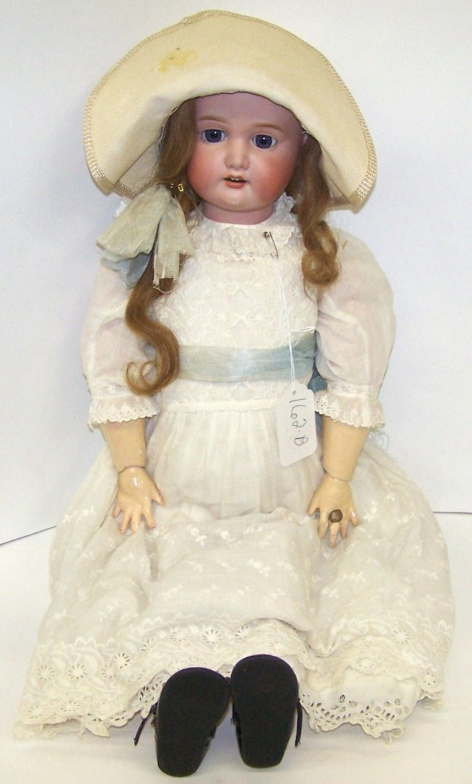 2005: ***MORIMURA BROTHERS BISQUE HEAD DOLL