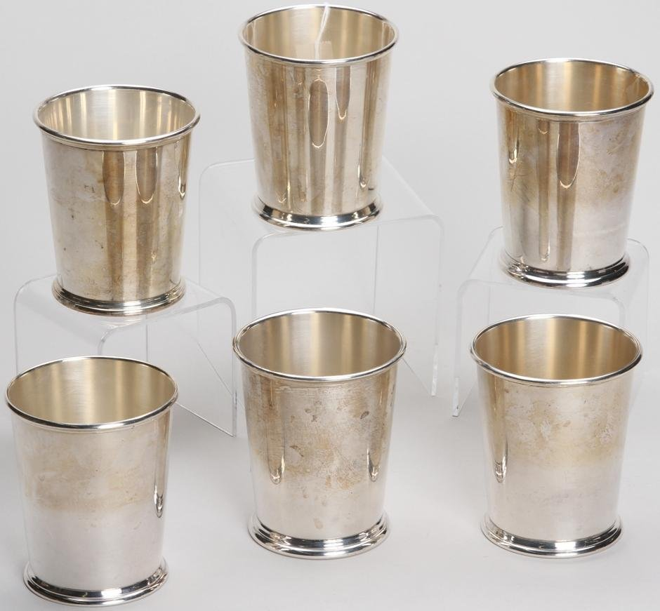 1002: ***SIX S. KIRK AND SON STERLING SILVER CUPS