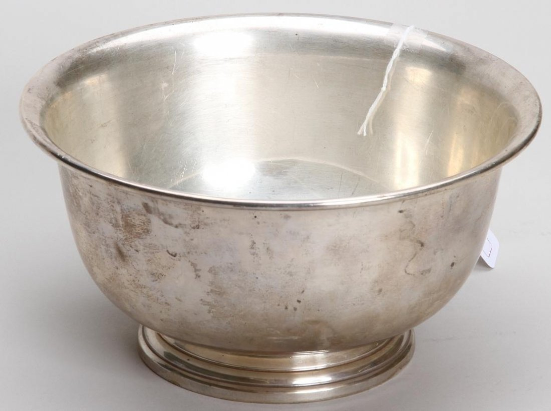 1003: ***WATROUS STERLING SILVER FOOTED BOWL