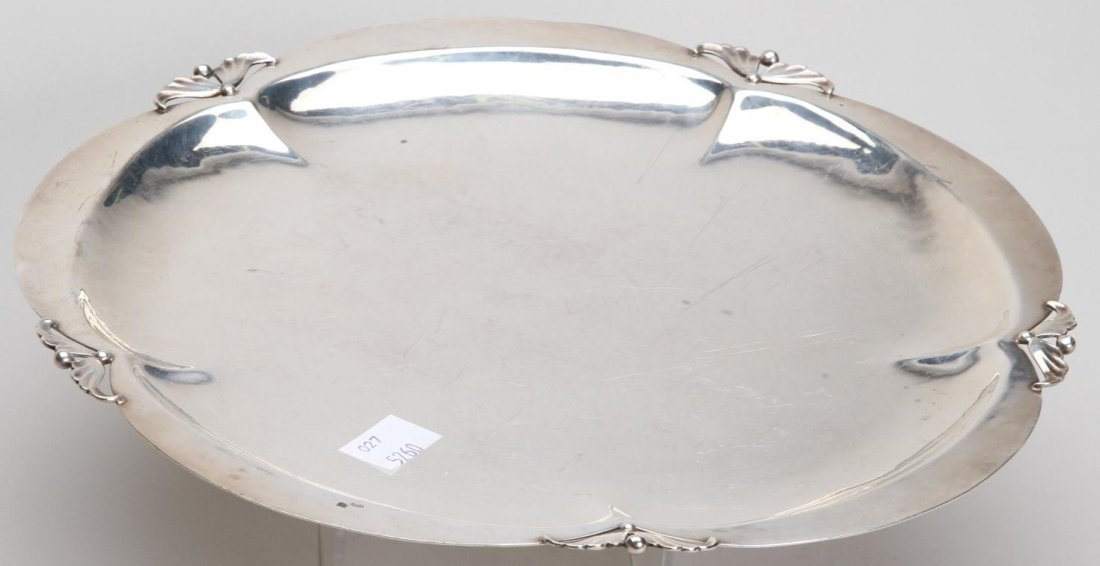 1010:  ***CELLINI CRAFT, LTD. STERLING SILVER TRAY