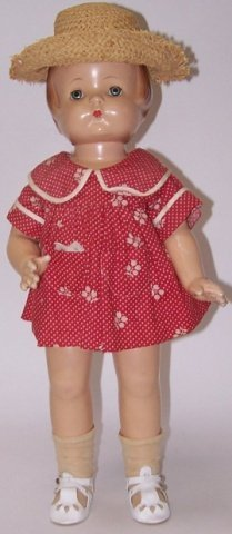 *EFFANBEE COMPOSITION PATSY ANNE DOLL