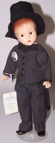 *EFFANBEE COMPOSITION DOLL