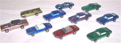 *10 HOT WHEELS REDLINE DIE CAST CARS