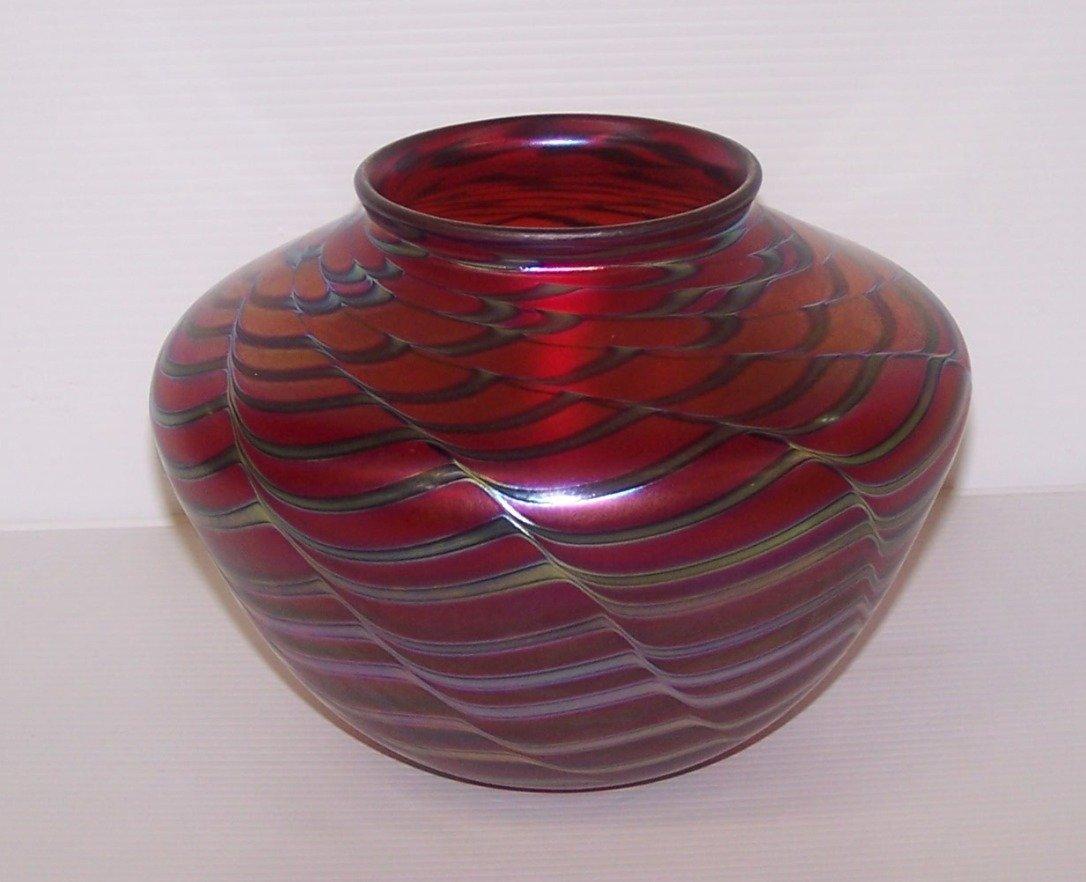 * Charles Lotton Art Glass Vase