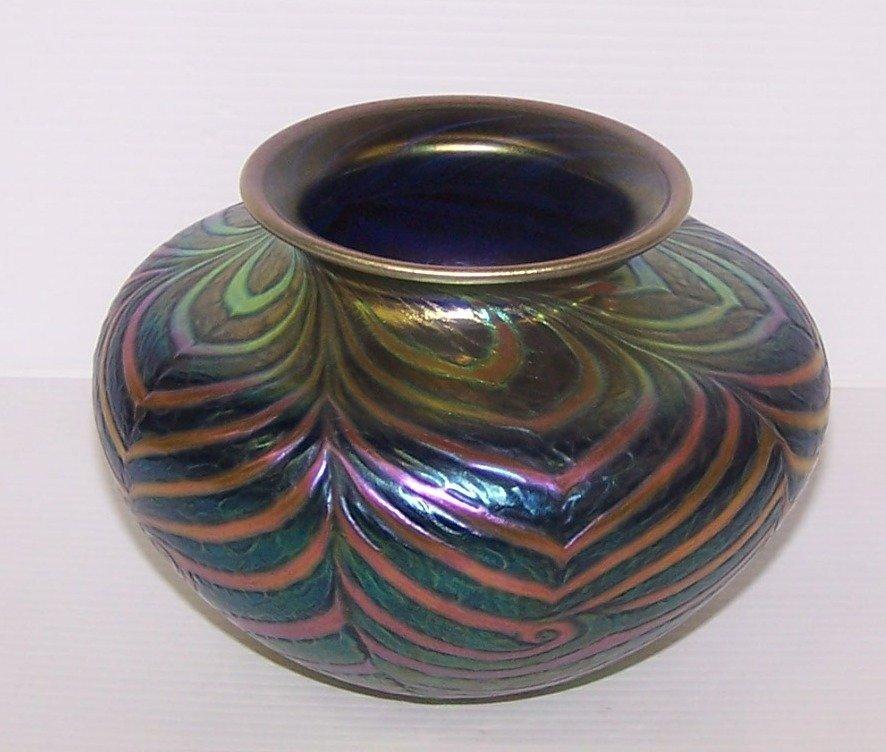 * Daniel Lotton Art Glass Vase