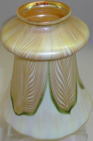 QUEZAL ART GLASS SHADE