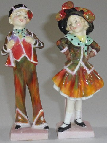 *PAIR OF ROYAL DOULTON FIGURES