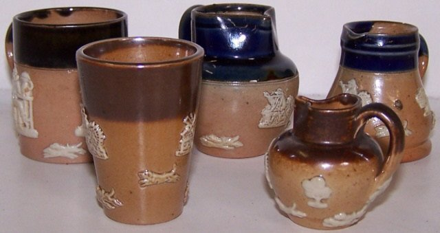 5 PIECES OF ROYAL DOULTON POTTERY