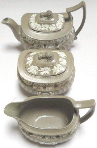 3 PIECE WEDGWOOD TEA SET
