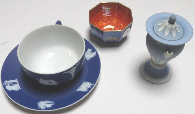 4 PIECES OF WEDGWOOD