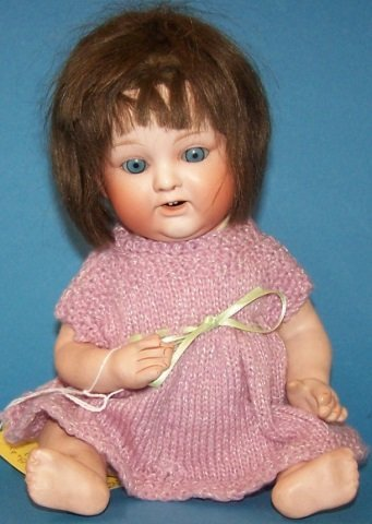 *NIPPON BISQUE HEAD DOLL