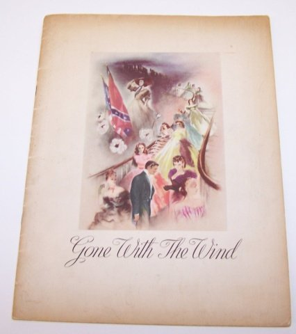 *GONE WITH THE WIND SOUVENIR PROGRAM