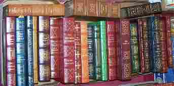 24 LEATHER BOUND BOOKS FROM THE EASTON PRESS