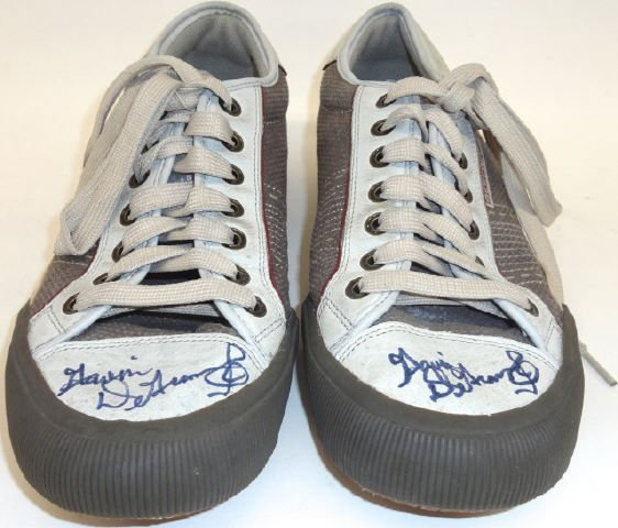 *PAIR OF GAVIN DEGRAW AUTOGRAPHED SKECHERS SHOES