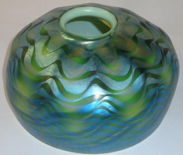 *TIFFANY ART GLASS SHADE