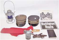 *GROUP OF RAILROAD COLLECTIBLES