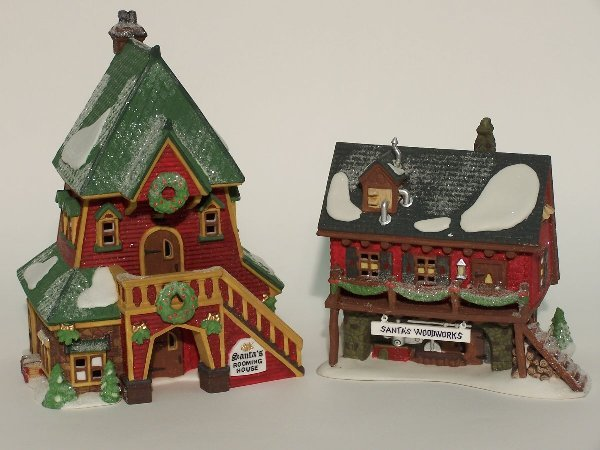 """2001: """"TWO PIECES OF DEPARTMENT 56