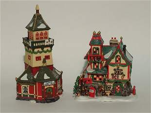 """""""TWO PIECES OF DEPARTMENT 56