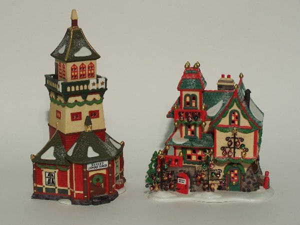 """2003: """"TWO PIECES OF DEPARTMENT 56