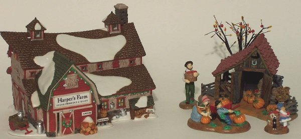 """2004: """"TWO PIECES OF DEPARTMENT 56