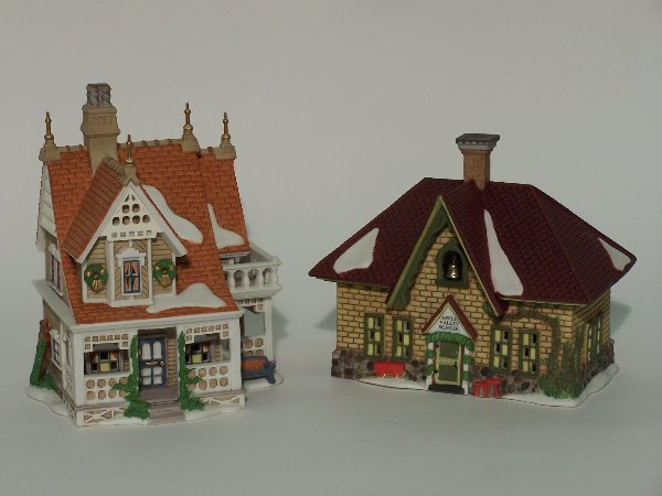 """2007: """"TWO PIECES OF DEPARTMENT 56