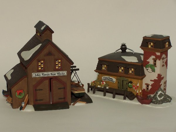 """2008: """"TWO PIECES OF DEPARTMENT 56