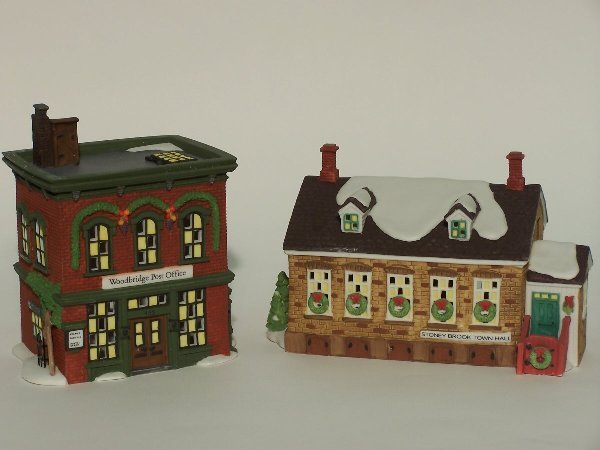"""2009: """"TWO PIECES OF DEPARTMENT 56