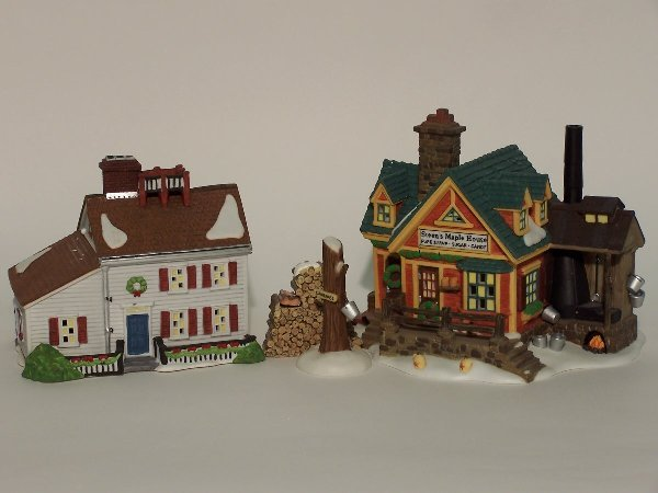 """2010: """"TWO PIECES OF DEPARTMENT 56