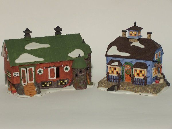 """2011: """"TWO PIECES OF DEPARTMENT 56