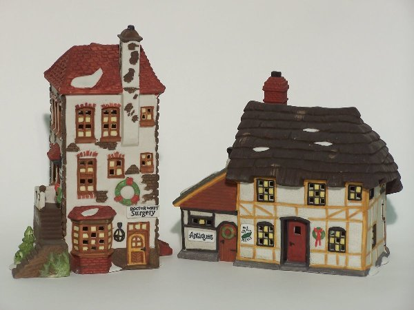 """2020: """"TWO PIECES OF DEPARTMENT 56