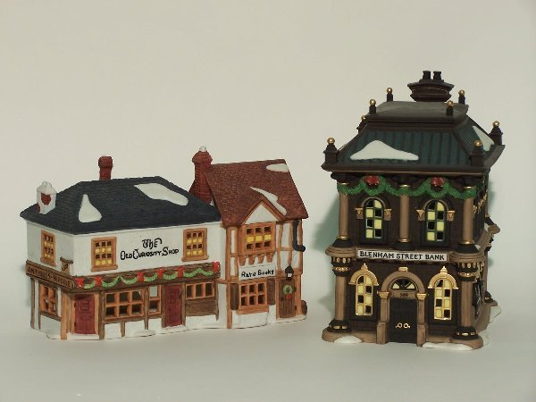 """2021: """"TWO PIECES OF DEPARTMENT 56