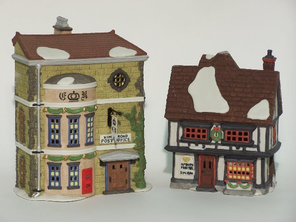 """2022: """"TWO PIECES OF DEPARTMENT 56