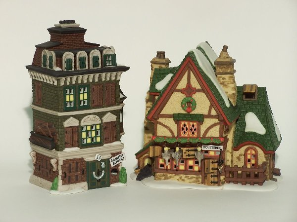 """2024: """"TWO PIECES OF DEPARTMENT 56