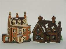 """2029: """"TWO PIECES OF DEPARTMENT 56