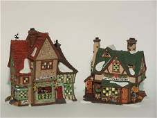 """2030: """"TWO PIECES OF DEPARTMENT 56