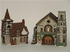 """2031: """"TWO PIECES OF DEPARTMENT 56