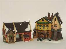 """2032: """"TWO PIECES OF DEPARTMENT 56