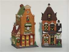 """2041: """"TWO PIECES OF DEPARTMENT 56