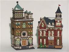 """2042: """"TWO PIECES OF DEPARTMENT 56