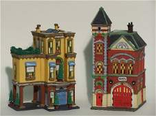 """2044: """"TWO PIECES OF DEPARTMENT 56